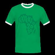T-Shirts ~ Men's Ringer Shirt ~ Men's Expekt 2010 Football T-Shirt Red/green