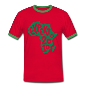 Men's Expekt 2010 Football T-Shirt Red/green - Men's Ringer Shirt