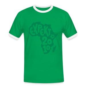 Men's Expekt 2010 Football T-Shirt Red/green - Men's Ringer Shirt