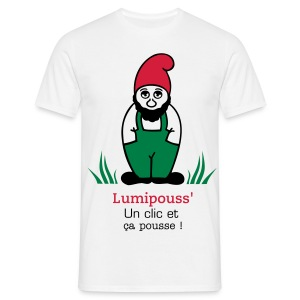 T-shirt Homme lumipouss - T-shirt Homme
