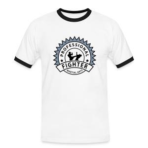Weiß/schwarz prof_fighter_2 T-Shirts - Männer Kontrast-T-Shirt