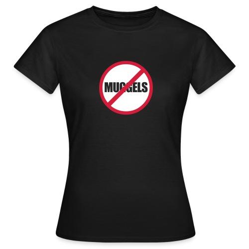 No Muggels! Geocacher T-Shirt - Frauen T-Shirt