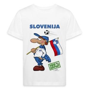 Bio-Fanshirt Slovenija Kids - Kinder Bio-T-Shirt