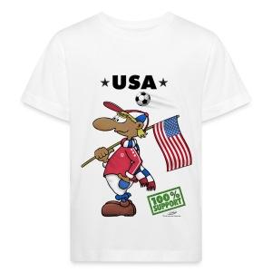 Bio-Fanshirt USA Kids - Kinder Bio-T-Shirt