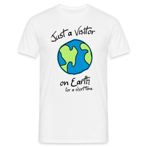 Visitor on Earth - Men's T-Shirt