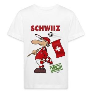 Bio-Fanshirt Schwiiz Kids - Kinder Bio-T-Shirt