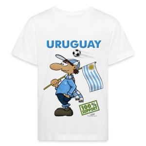 Bio-Fanshirt Uruguay Kids - Kinder Bio-T-Shirt