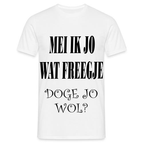 GEKKE TEKST SHIRT - Mannen T-shirt