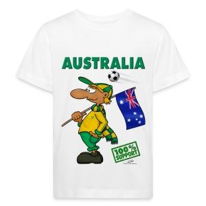 Bio-Fanshirt Australia Kids - Kinder Bio-T-Shirt