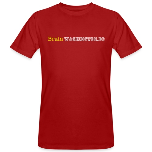 Brainwashington.dc - Männer Bio-T-Shirt