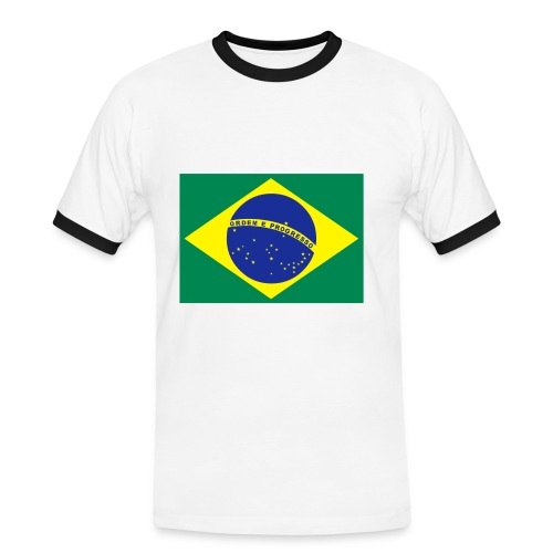 brazil - Men's Ringer Shirt