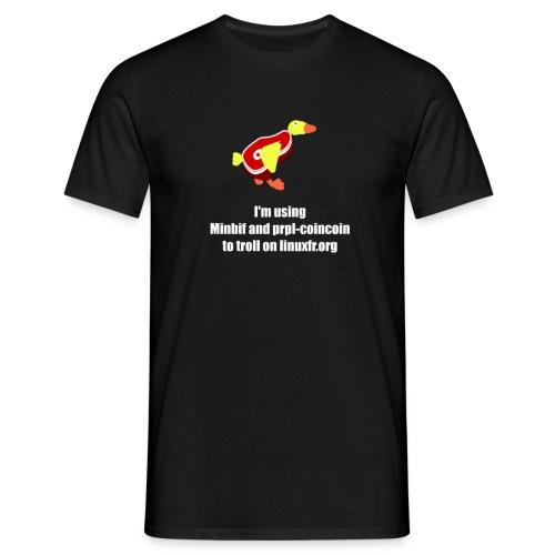 prpl-coincoin - T-shirt Homme