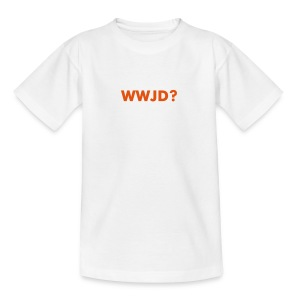 WWJD? - Teenage T-shirt