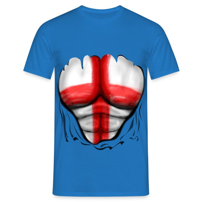 england ripped muscles black
