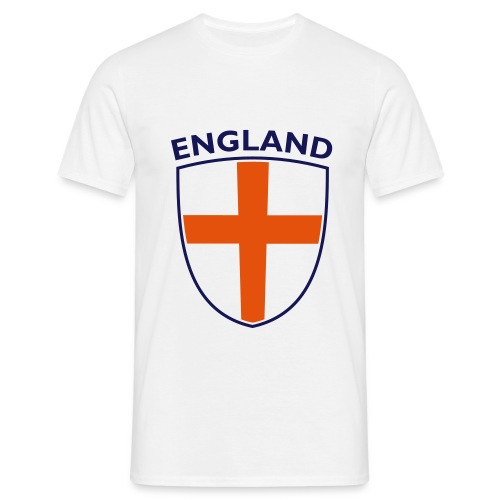 england white - Men's T-Shirt