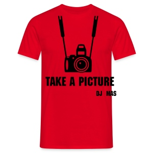 Mas-Tee Take a picture - Mannen T-shirt