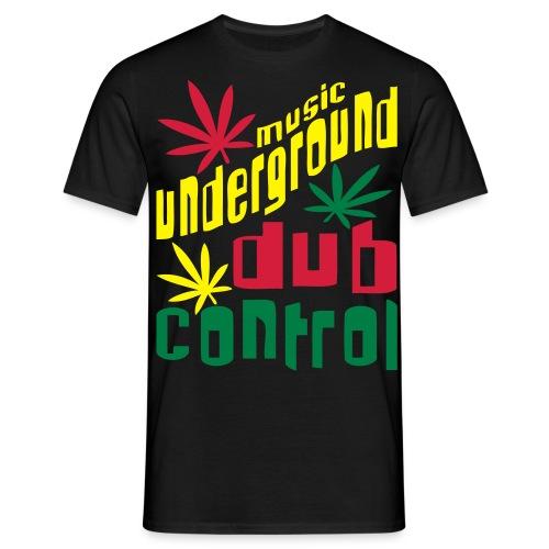 Music Underground DUB Control  - T-shirt Homme