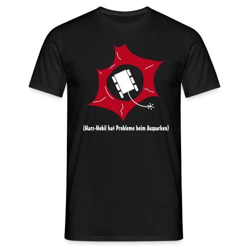 Mars Mobil parkt aus - Männer T-Shirt