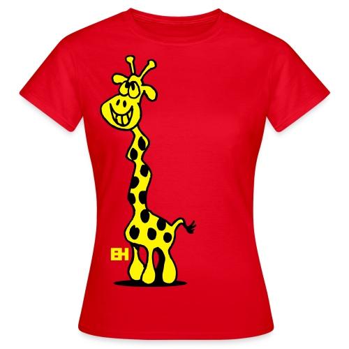 Women's giraffe t-Shirt - Women's T-Shirt