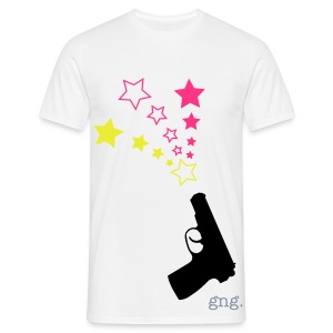 Gunshot Stars Mens Tee - Men's T-Shirt