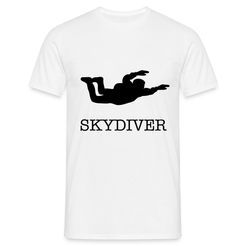 Skydiver - T-skjorte for menn