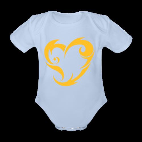 Hevi - Vauvan lyhythihainen luomu-body
