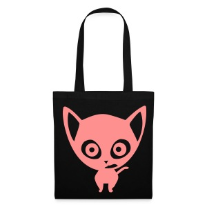 Pink Kitty Tote Bag - Tote Bag