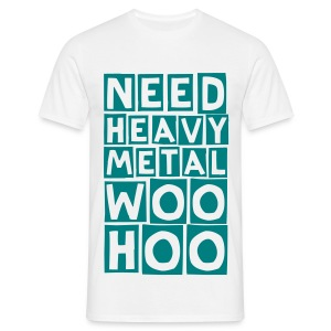 metal woohoo (M) - Men's T-Shirt
