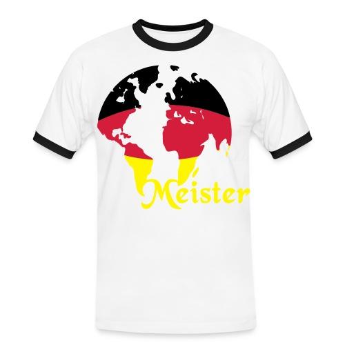Männer T-Shirt WM  - Männer Kontrast-T-Shirt