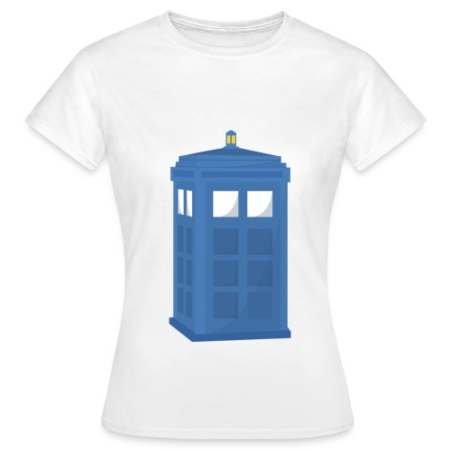 Women's Police Box Tee - Women's T-Shirt