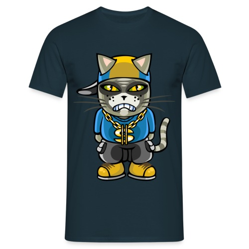 Gangsta cat - Men's T-Shirt