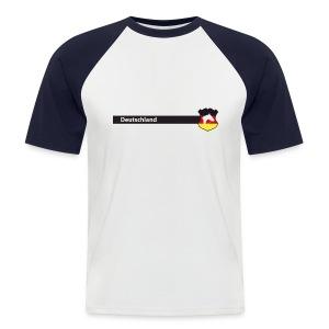 Deutschland - Männer Baseball-T-Shirt