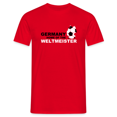 Rot germany home of the weltmeister T-Shirts