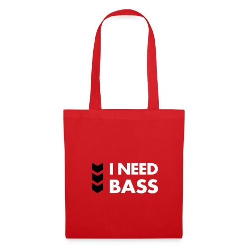 Stofftasche | I Need Bass - Tote Bag