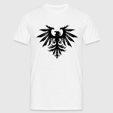 White NEW Mark Eteson Bird Logo Men's T-Shirts - Men's T-Shirt