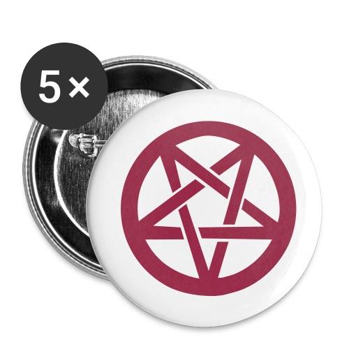 Pentagram - Buttons small 25 mm