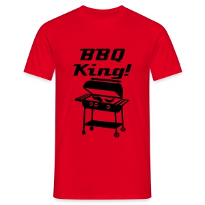 BBQ King - Men's T-Shirt
