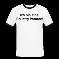 T-Shirts ~ Männer Kontrast-T-Shirt ~ Artikelnummer 13066183