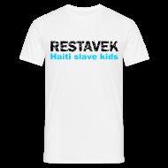 T-Shirts ~ Männer T-Shirt ~ T-Shirt Mann Restavek 03 blau© by kally ART®