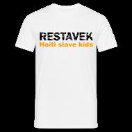 T-Shirts ~ Männer T-Shirt ~ T-Shirt Mann Restavek 03 orange© by kally ART®