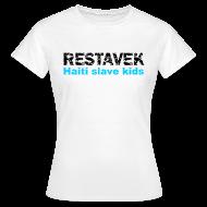 T-Shirts ~ Frauen T-Shirt ~ T-Shirt Frau Restavek 03 blau© by kally ART®