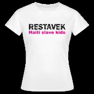 T-Shirts ~ Frauen T-Shirt ~ T-Shirt Frau Restavek 03 pink© by kally ART®