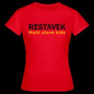 T-Shirts ~ Frauen T-Shirt ~ T-Shirt Frau Restavek 03 orange© by kally ART®