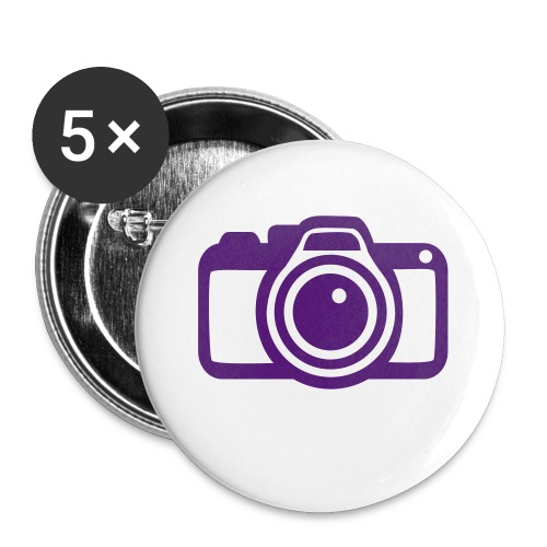 king of hearts - Buttons large 2.2''/56 mm(5-pack)