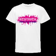 T-Shirts ~ Teenager T-Shirt ~ Kids T-Shirt Restavek Splash 03lila pink © by kally ART®