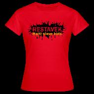 T-Shirts ~ Frauen T-Shirt ~ Frau T-Shirt Restavek Splash 03orange © by kally ART®