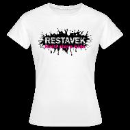 T-Shirts ~ Frauen T-Shirt ~ Frau T-Shirt Restavek Splash 03pink © by kally ART®