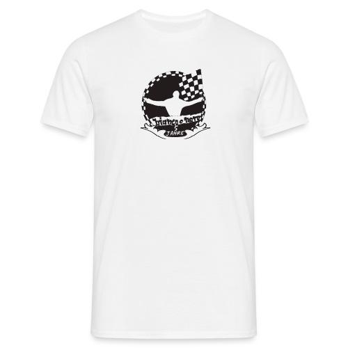 5 Jahre BNSB weiß - Männer T-Shirt