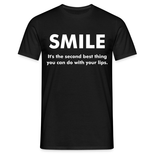 Smile! - Men's T-Shirt