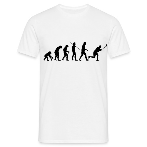 Floorball Evolution White - Männer T-Shirt